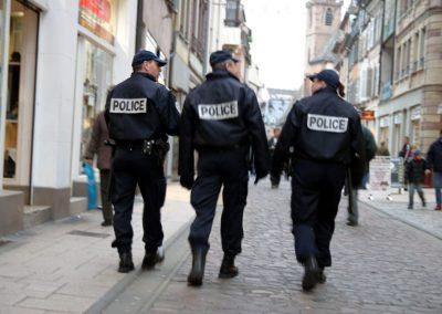 Agent (de police municipale, de stationnement de la voirie)