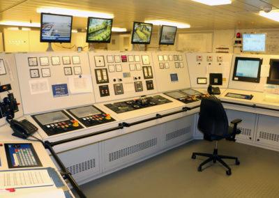 Opérateur salle de contrôle en production d'énergie