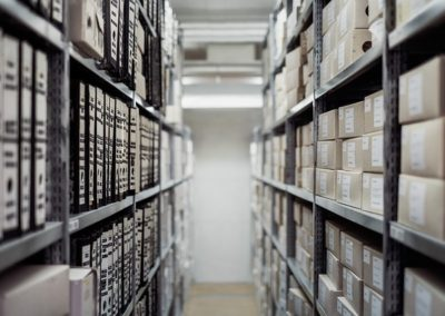 Employé aux archives, Employé de bureau, Employé administratif