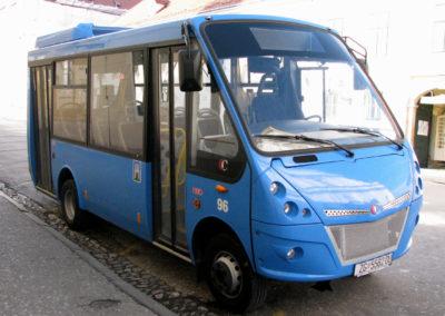 Conducteur de mini bus de plus de 9 personnes, de petit train touristique, de tramway, de trolleybus