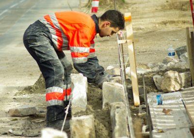 Ouvrier de la maçonnerie