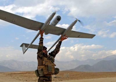 Chef d'équipe drones