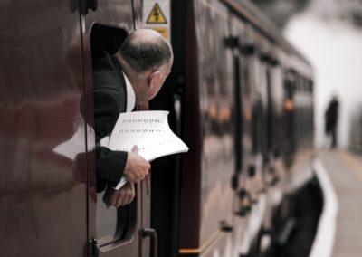 Chef de bord de train