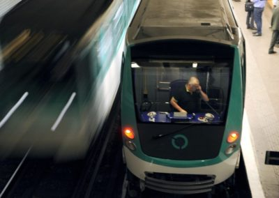 Conducteur (de métro, RER, de train, d'engins de manœuvre du réseau ferré, d'engins de traction sur rails)