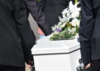 Démarcheur funéraire