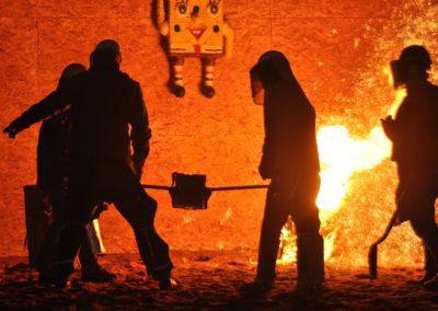 Responsable de fusion en métallurgie