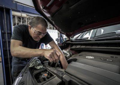 Garagiste-mécanicien