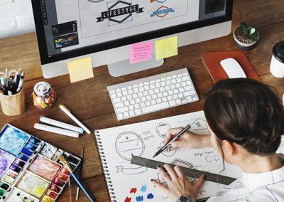 Illustrateur, Illustrateur graphiste