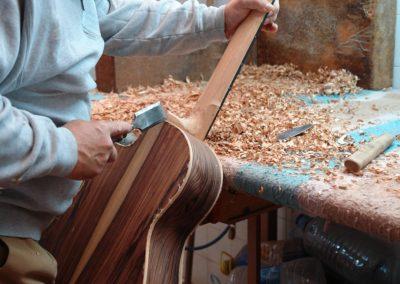 Luthier (du quatuor, guitare, vents)