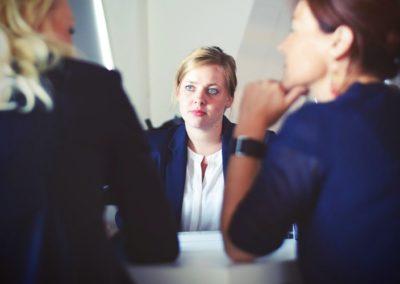 Interprète (d'affaires, de conférences, de contacts, de liaisons, en langage des signes, traducteur)