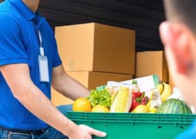 Livreur, Livreur (distributeur de repas, alimentation), Livreur-vendeur