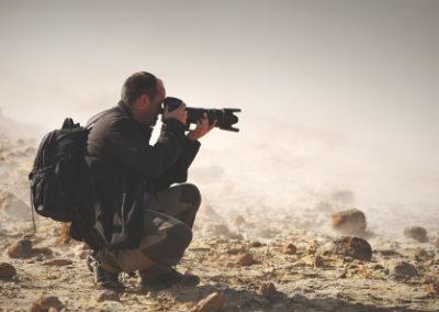 Reporter (photographe, dessinateur)