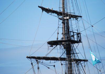Gréeur (manutentionnaire de voiliers et vedettes, voilier, mateloteur)