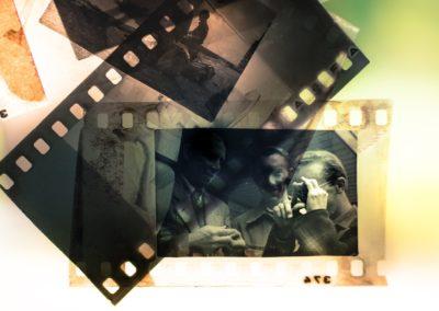Laborantin de laboratoire photographique