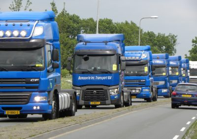 Camionneur, Routier